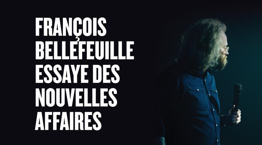 François Bellefeuille en spectacle au Patriote de Ste-Agathe