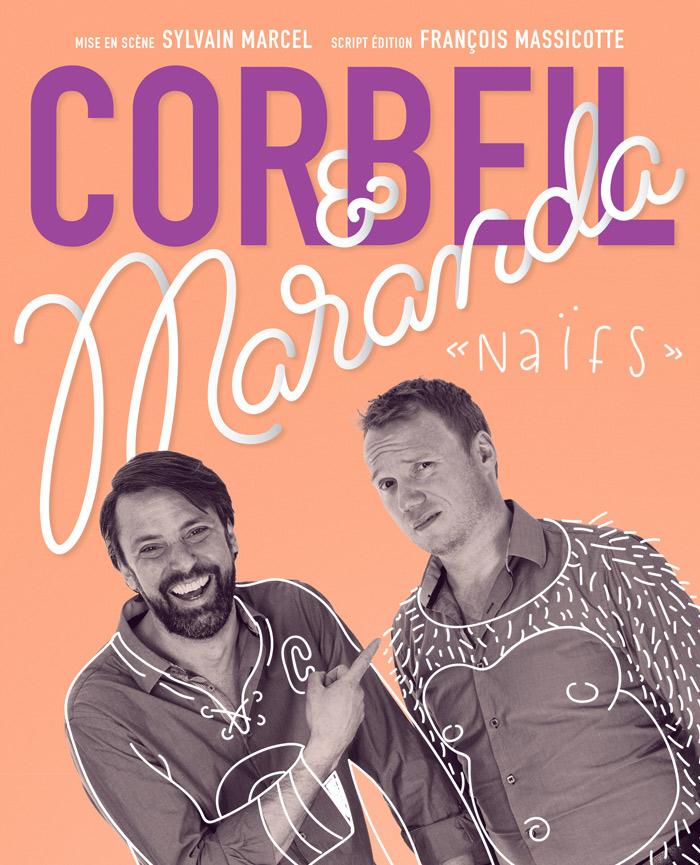 Corbeil et Maranda en spectacle au Patriote de Ste-Agathe