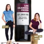 Êve Côté Marie-Lyne Joncas Les Grandes Crues Bouteille de vin Su'L Gros Vin