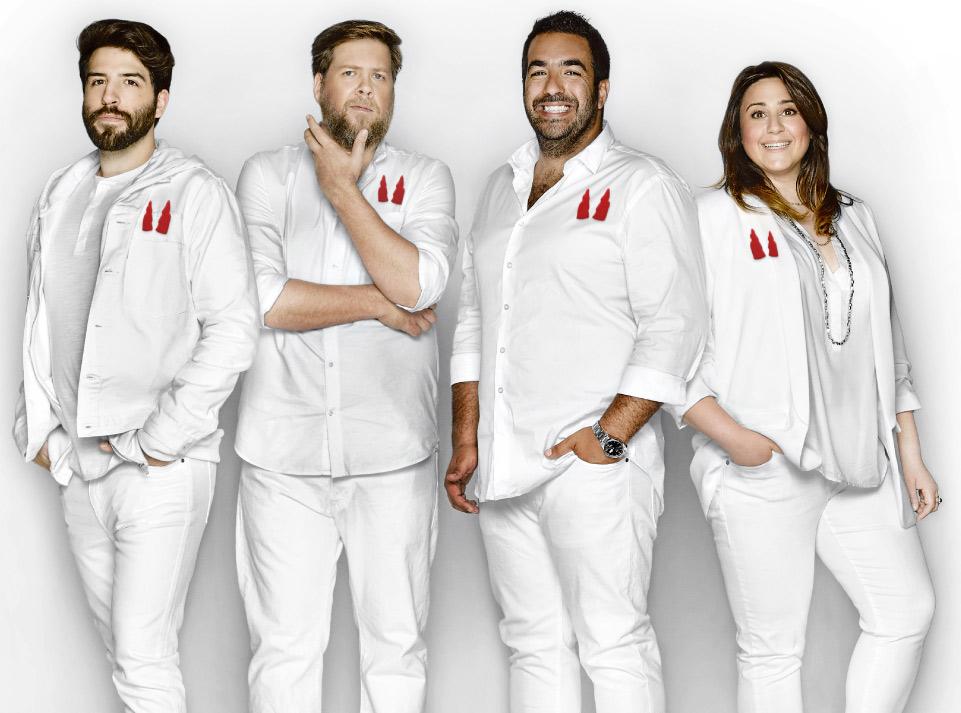 La Tournée Juste pour Rire avec Didier Lambert, Yannick de Martino, Neev et Mélanie Ghanimé