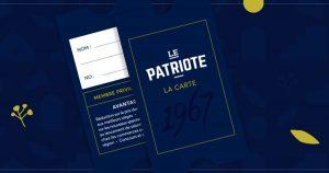 Carte membre privilege Patriote Ste-Agathe