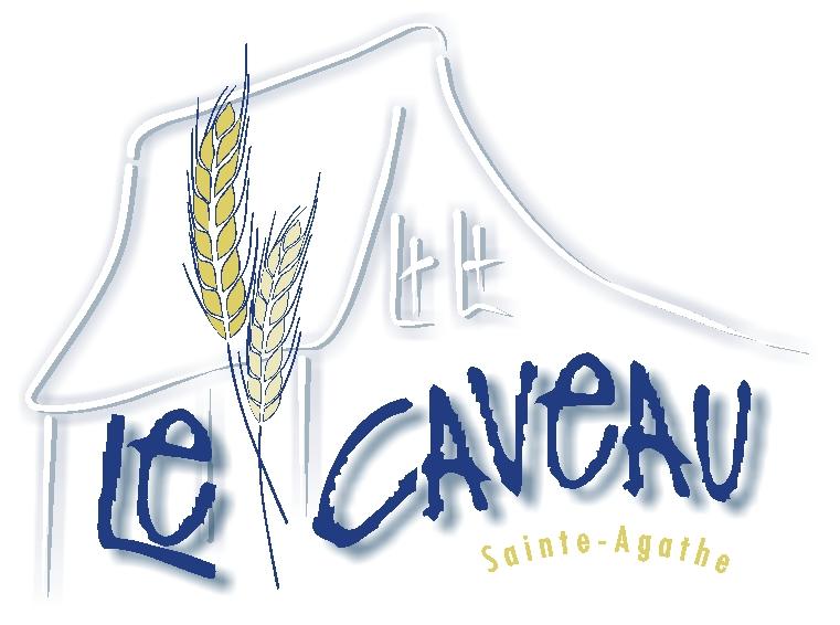Logo Caveau maison couleur