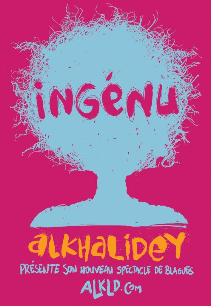 Affiche Ingénu Adib Alkhalidey