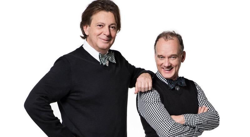 Daniel Lemire et Pierre Verville en spectacle au Patriote de Ste-Agathe