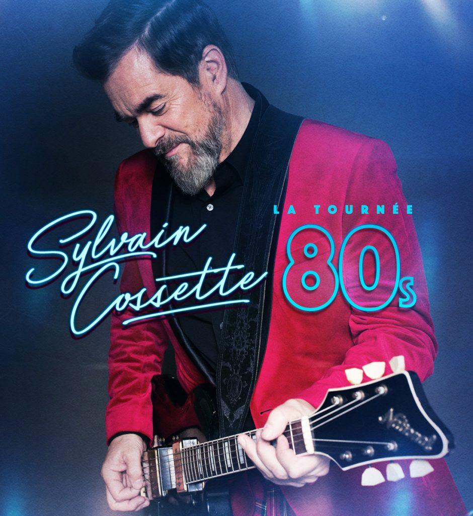Sylvain Cossette présente le spectacle les année 80 au Patriote de Ste-Agathe