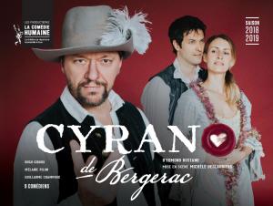 Cyrano de Bergerac sur la scène du Patriote de Ste-Agathe