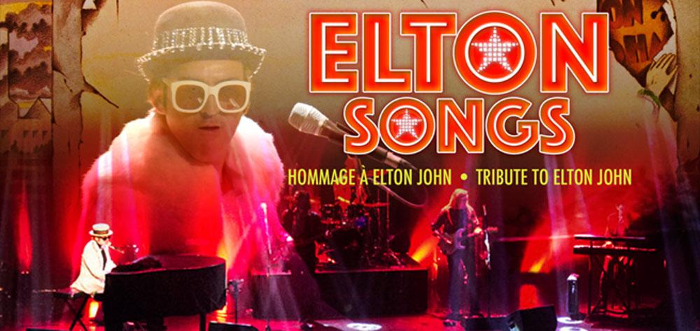 Elton Songs un hommage à Elton John en spectacle au Patriote de Ste-Agathe