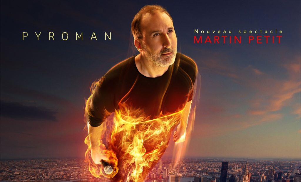 Pyroman Martin Petit en spectacle au Patriote de Ste-Agathe