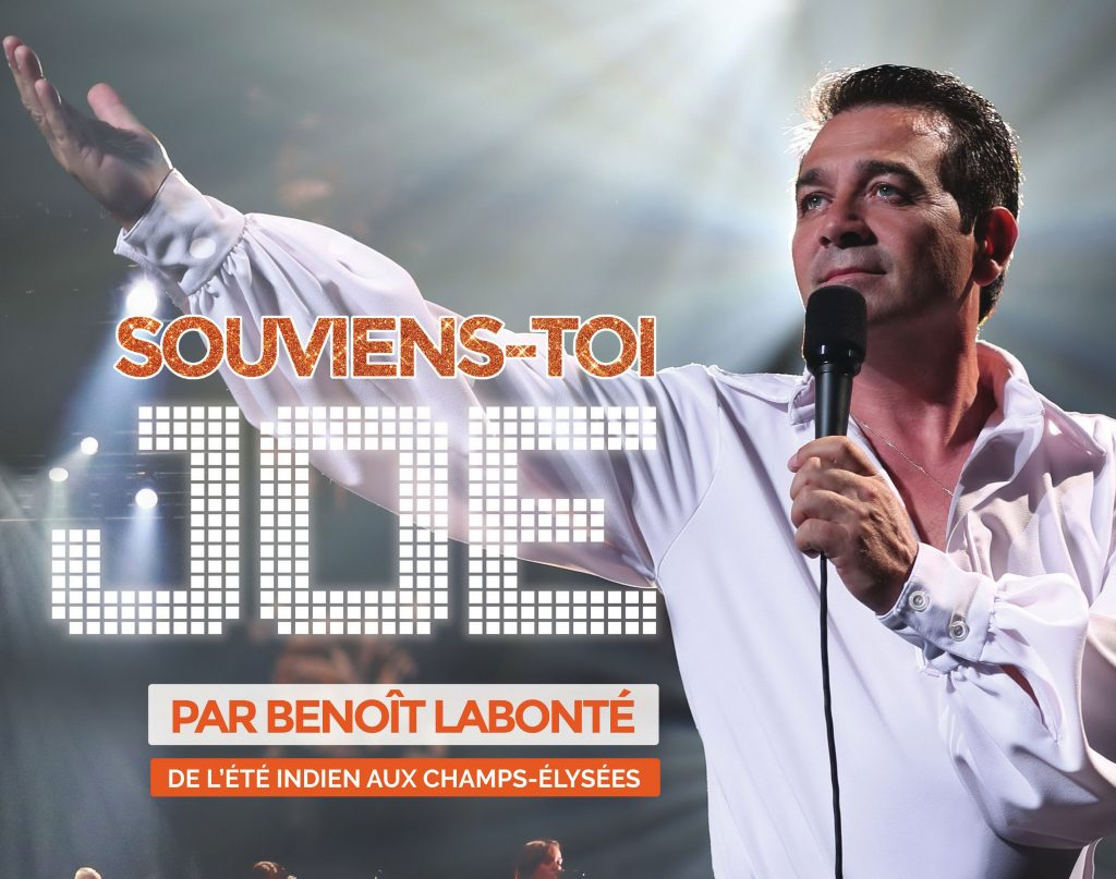 Souviens-toi Joe Dassin au Patriote de Ste-Agathe Benoit Labonté